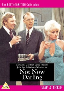 Not Now Darling DVD sleeve