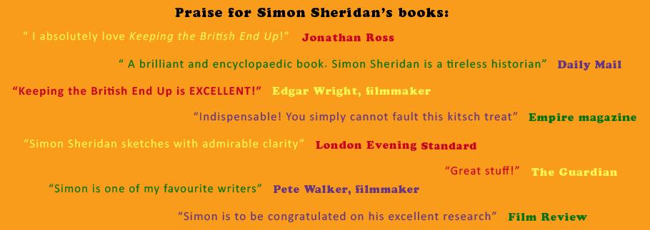 Praise for Simon Sheridans books